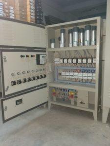 Inside Power Factor Panel